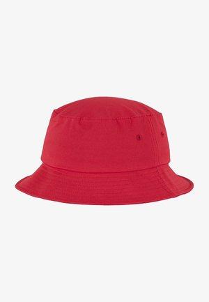 BUCKET  - Hat - red