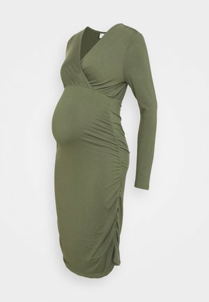 NURSING DRESS - Vestido de tubo - thyme