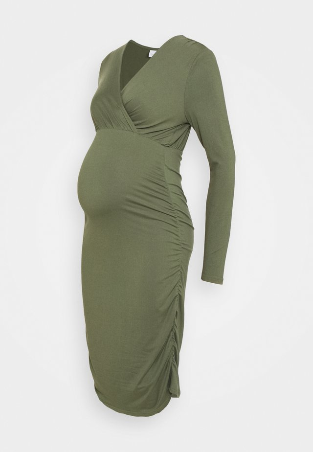 NURSING DRESS - Etui-jurk - thyme
