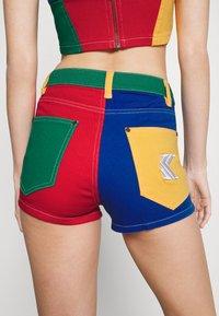 Karl Kani - BLOCK - Jeansshorts - multicolor - 6