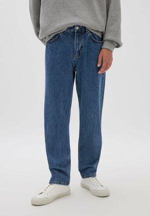 DAD-FIT - Straight leg -farkut - dark-blue denim