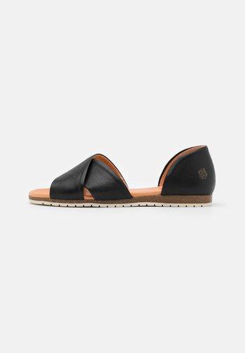 CHIUSI - Sandals - black