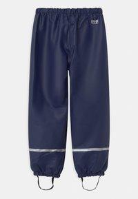 LEGO Wear - POWAI UNISEX - Rain trousers - dark navy - 1