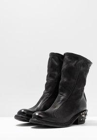 A.S.98 - Cowboy/biker ankle boot - nero - 4