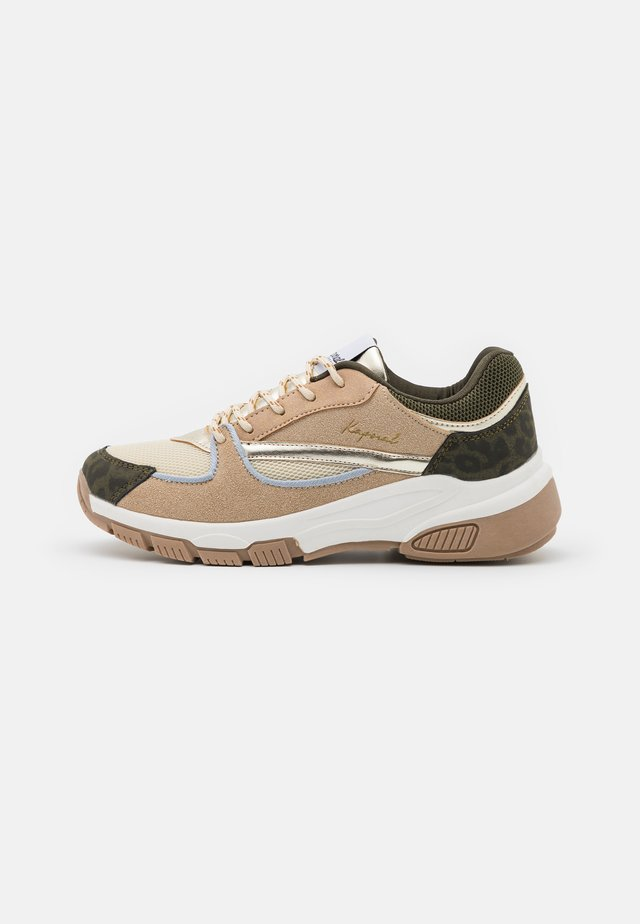 DEEJAY - Trainers - beige/multicolor