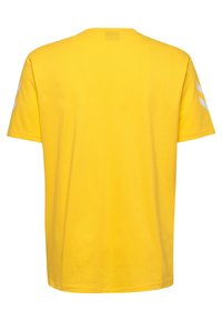 Hummel - HMLGO - Print T-shirt - sports yellow - 1