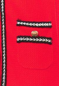 Pinko - FOOTBALL ABITO STRETCH - Shirt dress - red - 6