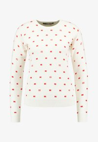 Scotch & Soda - LONG SLEEVE IN VARIOUS ALLOVER PRINT - Jumper - off-white - 3