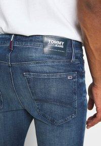 Tommy Jeans - SIMON SKINNY - Skinny-Farkut - blue denim - 3