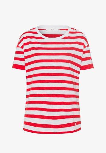 STYLE CAMILLE - T-shirt imprimé - red