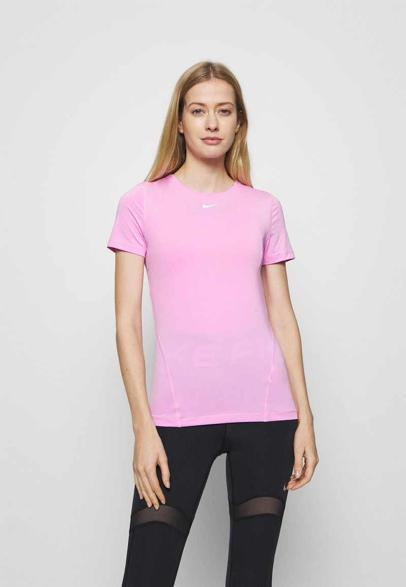 Nike Performance - ALL OVER - Basic T-shirt - beyond pink