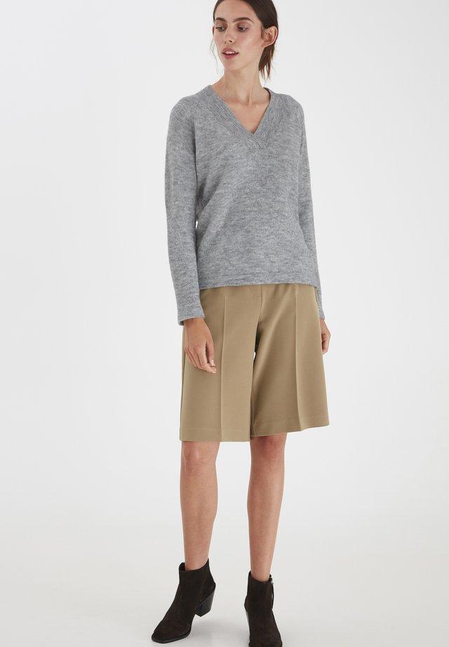 IHAMARA V  - Sweter - grey melange