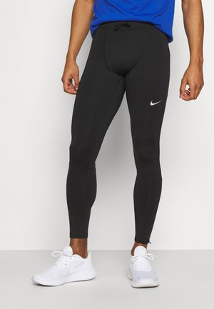 Legging - black/reflective silver