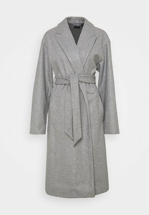VMFORTUNE LONG JACKET - Wollmantel/klassischer Mantel - light grey melange