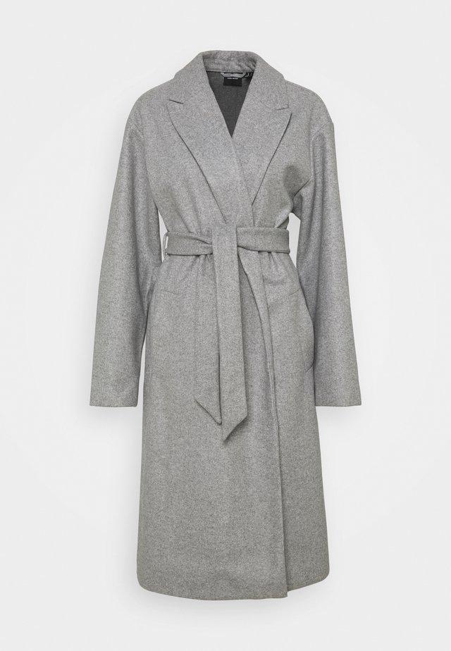 VMFORTUNE LONG JACKET - Classic coat - light grey melange