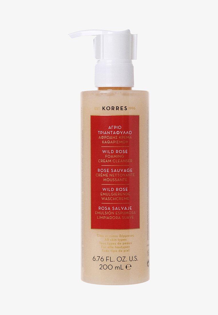 Korres - WILD ROSE FOAMING CREAM CLEANSER - Cleanser - -