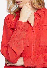 khujo - LEANNA - Shirt dress - red - 7