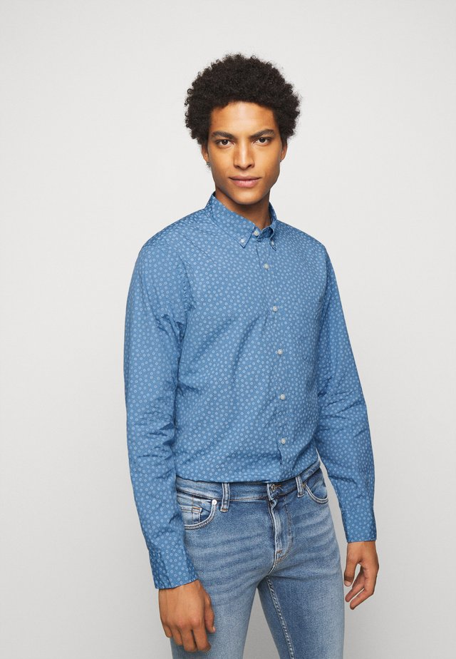 WASHED DAISY DITSY - Shirt - courier blue dickens