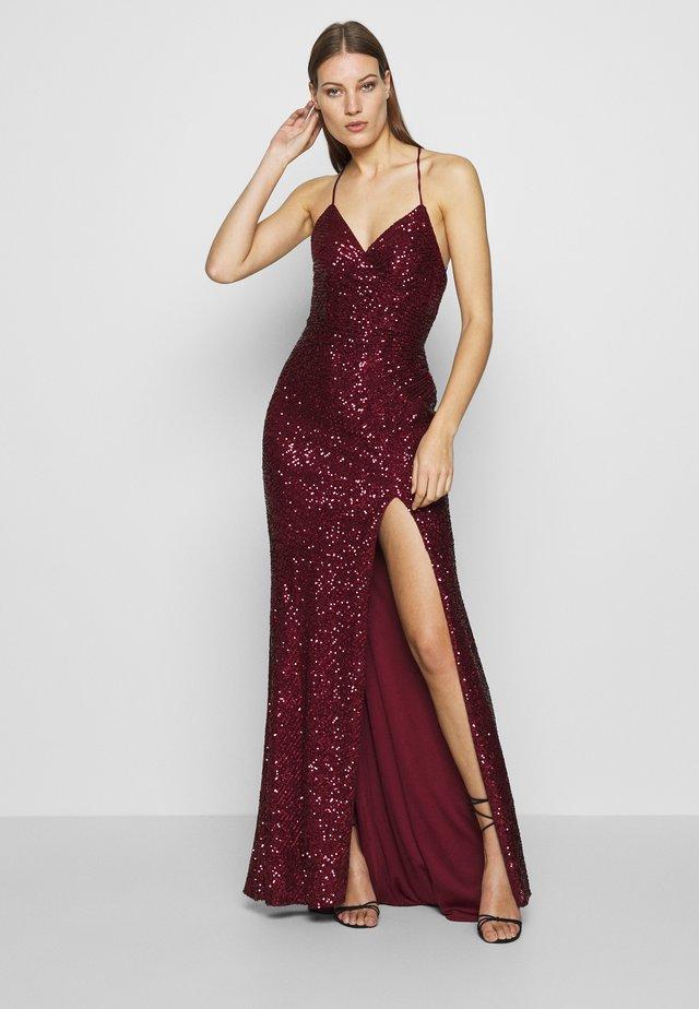 Vestido de fiesta - wine