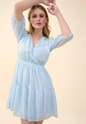 AUSGESTELLTES - Day dress - samtblau