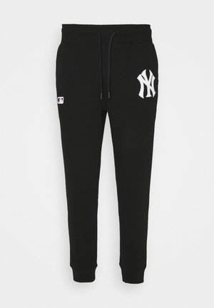 MLB NEW YORK YANKEES EMBROIDERY  BURNSIDE PANTS - Joggebukse - jet black