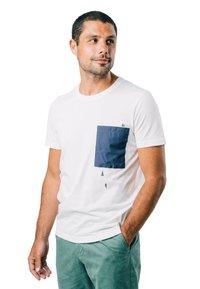 Brava Fabrics - NINJA - T-shirt print - white - 0