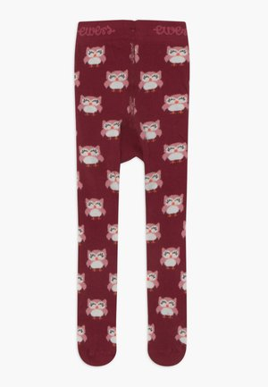 LITTLE OWL - Tights - rhododendron