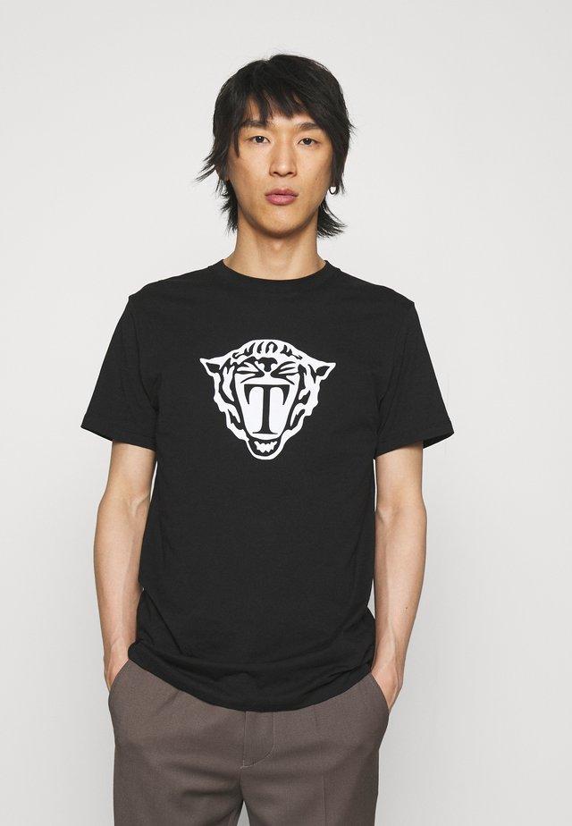 FLEEK - T-shirt imprimé - black