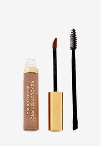 Revolution PRO - ULTIMATE BROW GEL - Eyebrow gel - soft brown - 0