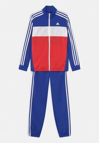 bold blue/white/red