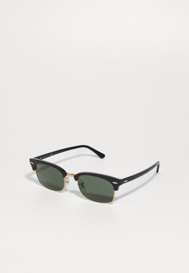 CLUBMASTER SQUARE - Zonnebril - black/green