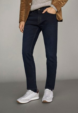 FIVE-POCKET IM  - Pantalon classique - blue