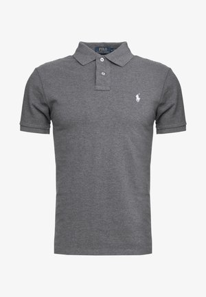 SLIM FIT MODEL - Poloshirt - fortress grey heather