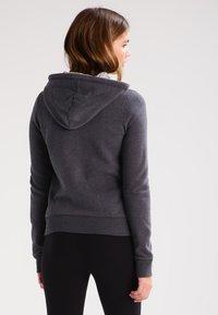 Hollister Co. - CORE - Zip-up hoodie - dark grey - 2