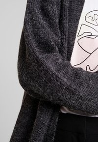 ICHI - NOVO - Cardigan - dark grey melange - 4