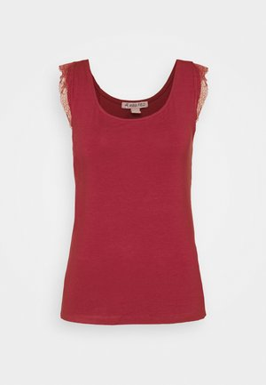 Top - earth red