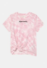 Abercrombie & Fitch - FASHION - T-shirt print - pink - 0