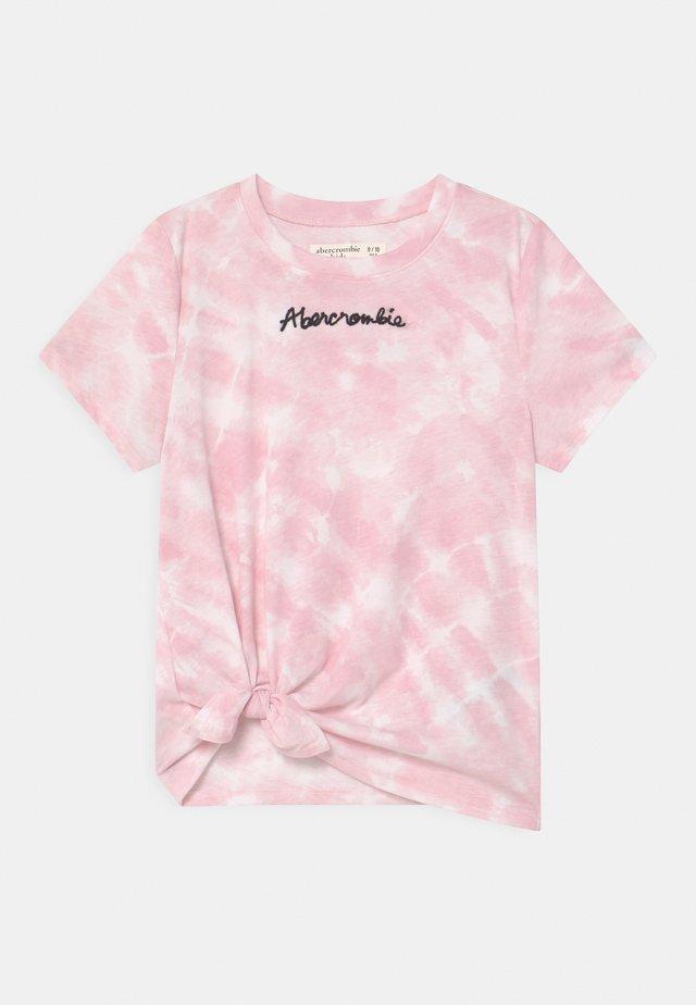 FASHION - T-shirt imprimé - pink