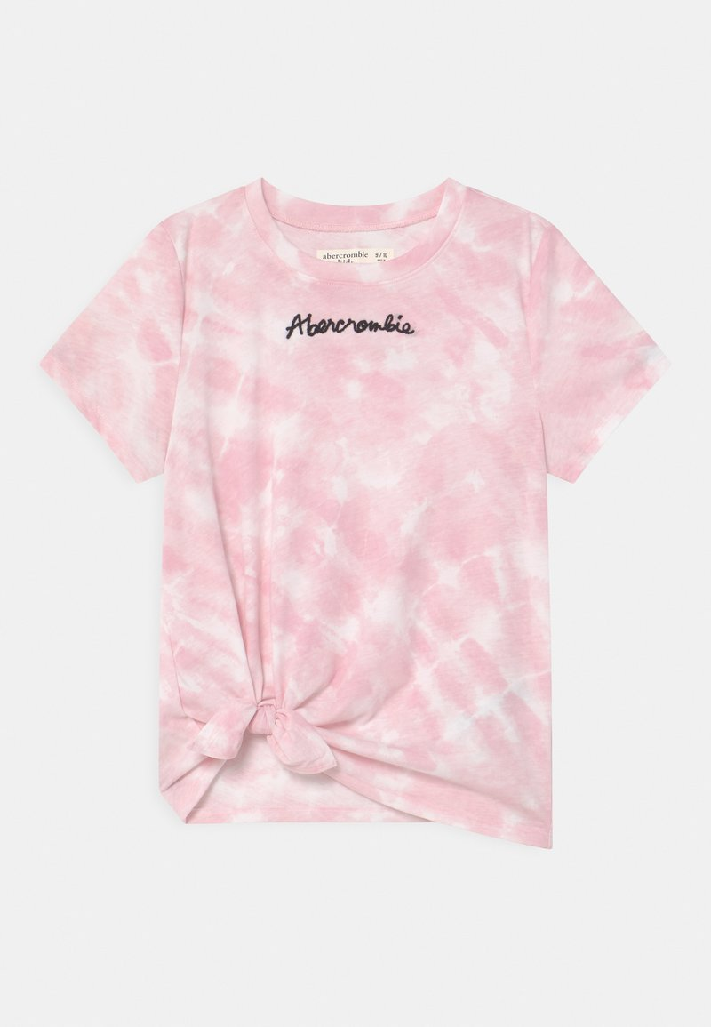 Abercrombie & Fitch - FASHION - T-shirt print - pink