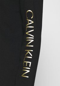 Calvin Klein - LOGO DRESS - Day dress - black - 4