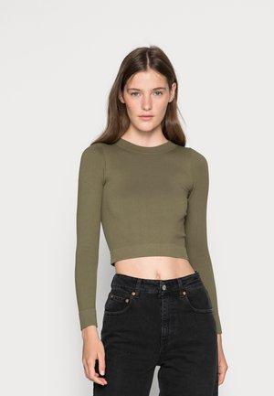 GRESS  - Bluzka z długim rękawem - ivy green