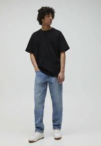 PULL&BEAR - 2PACK - OVERSIZED - T-shirt basique - white - 0