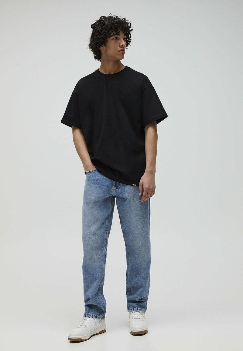 PULL&BEAR - 2PACK - OVERSIZED - T-shirt basique - white