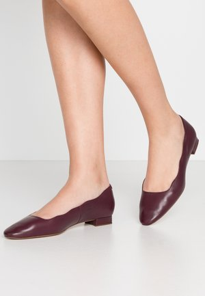 Ballet pumps - bordeaux