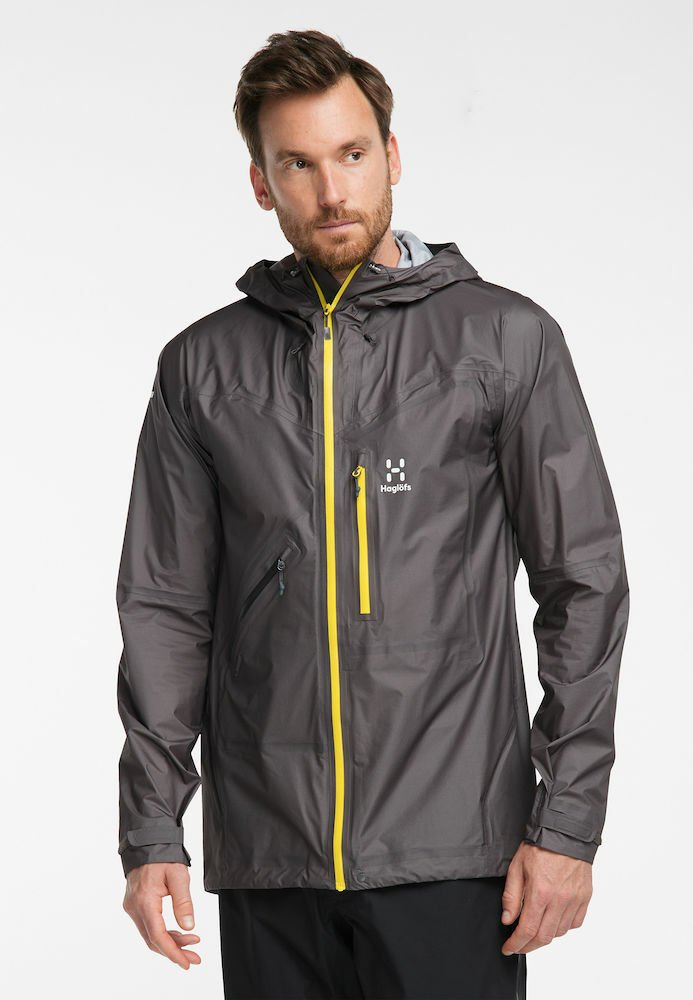 Haglöfs - L.I.M CROWN JACKET - Outdoor jacket - grey