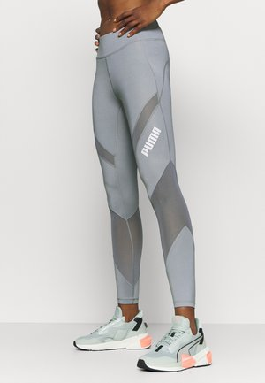 PAMELA REIF X PUMA COLLECTION MID WAIST - Leggings - quarry