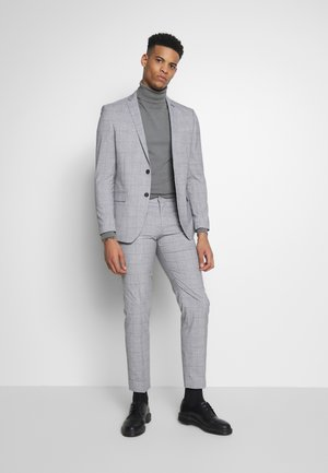 WINDOWPANE SUIT - Kostym - grey