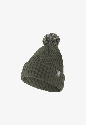 CIRCLE CAT REMOVABLE POM BEANIE - Muts - thyme