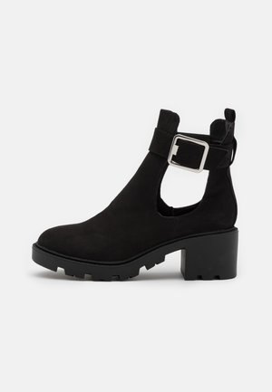 BEA CUTOUT UNIT BOOT - Classic ankle boots - black