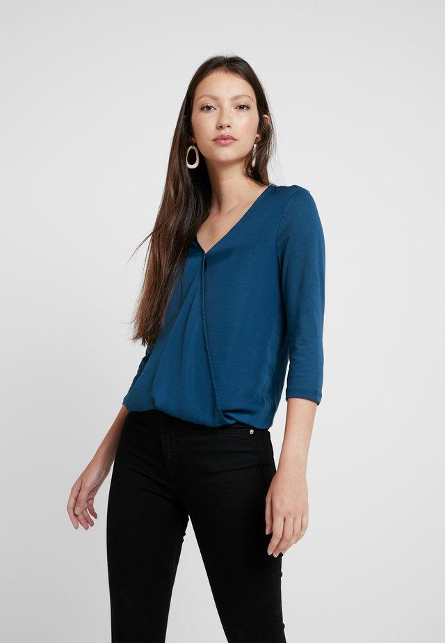 ONLAVA WRAP - Blusa - majolica blue